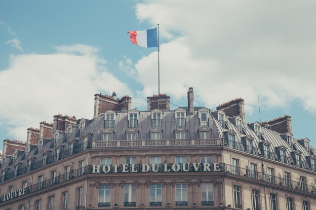 French Hotel and Flag